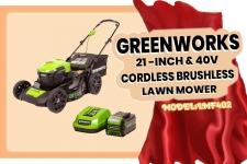 GreenWorks 40V Cordless Lawn Mower Review: 21 Inch Mower (LMF402)