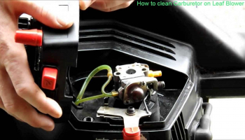 How to Clean Carburetor on Leaf Blowers?